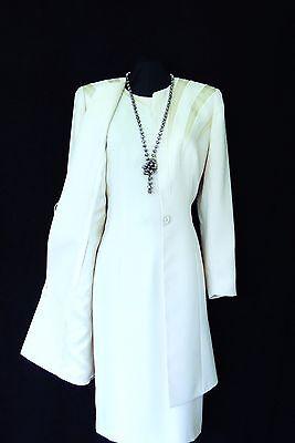 CONDICI Size 20 Light Blue Ladies Designer Wedding Dress & Jacket Coat Outfit