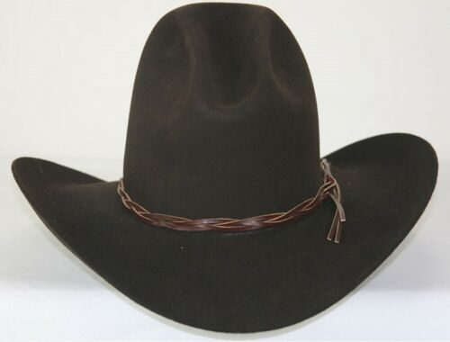 Western Lonesome Dove BLACK ~ GUS HAT ~ 4X Quality Felt ~ Rodeo King Cowboy