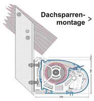 markisen regenschutzdach basic schutzdach f jarolift gelenkarmmarkise neu. Black Bedroom Furniture Sets. Home Design Ideas