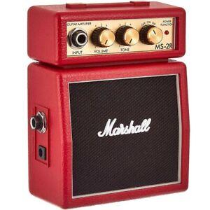 Marshall-MS2R-Mini-Amplificatore-Rosso