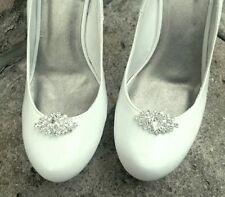 Wedding Shoe Clips, Bridal Shoe Clips, Shoe Clips,  Rhinestone Shoe Clips