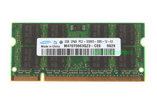 Samsung 2GB PC2-5300 DDR2 667Mhz 200pin Sodimm Laptop Memory RAM Low Density CL5