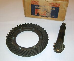 FIAT-500-A-TOPOLINO-COPPIA-CONICA-BEVEL-GEAR-PINION-SET