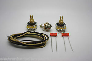 WIRING SUPER KIT FOR PRECISION BASS AND OTHERS P-BASS STYLE BASS GUITAR BASS