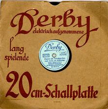"""KARKOFF-ORCH. Zuerst ein Schnäpschen und dann ein Küßchen    """"Derby""""20 cm M66"""