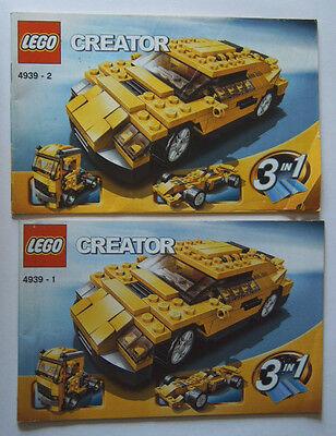 Instruction Nr 4939 Aromatischer Charakter Und Angenehmer Geschmack Sporting Lego® Bauanleitung