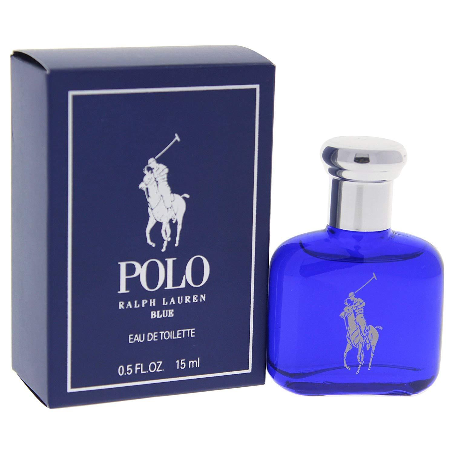 Polo Blue Cologne Perfume Ralph Lauren 0.5 oz 15 ml EDT Splash For Men New Boxed