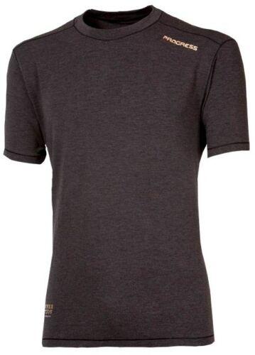 PROGRESS Funktionsunterwäsche Herren T-Shirt mit Kaffeefasern geruchshemmend NEU