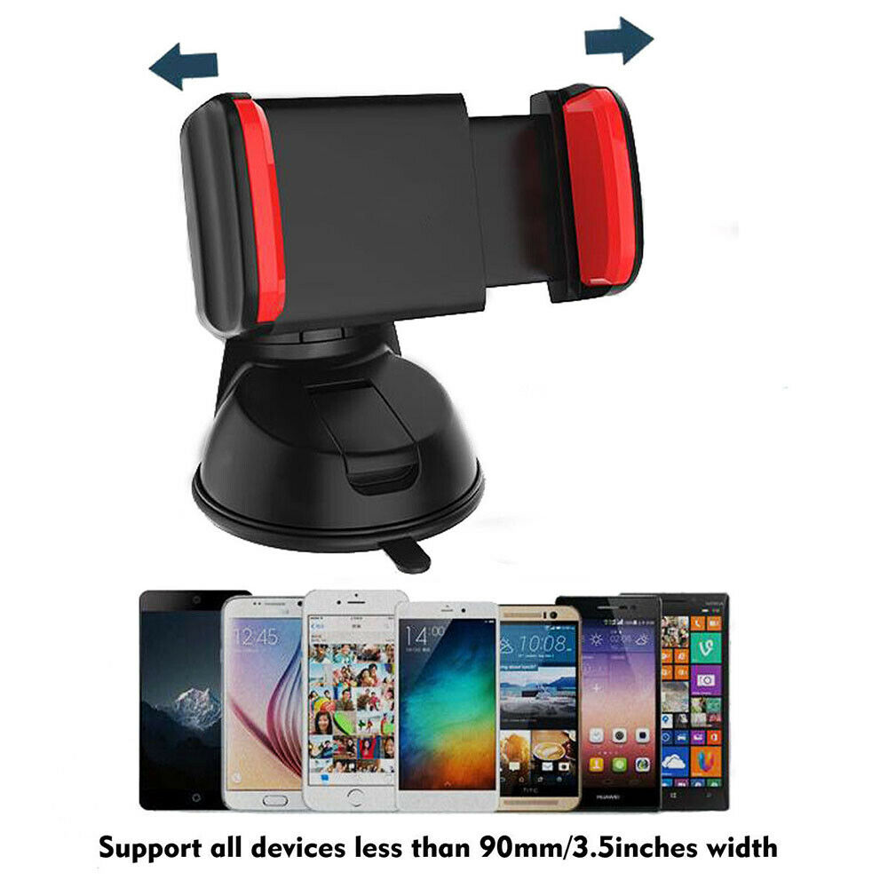 360 In Car Mobile Phone Holder Universal Mount Windscreen Dashboard Suction Home 8