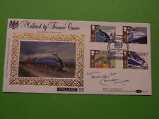 BENHAM FDC BLCS32 MALLARD SIGNED TERENCE CUNEO WITH INSERT