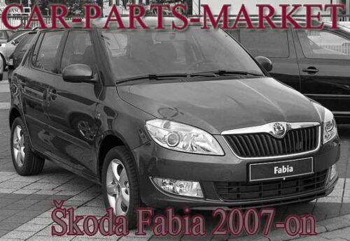 piastra di calore RIGHT DRIVER LATO Grandangolo ALA SPECCHIO VETRO PER SKODA FABIA 07-14