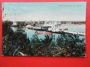 POSTCARD-DORSET-WEYMOUTH-FROM-THE-NOTHE