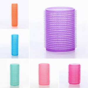 6-Pcs-Self-Grip-Hair-Roller-Cling-Any-Size-Hairdressing-Hair-Curlers-L-W1K2