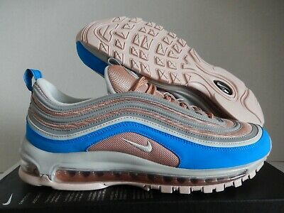 hot sale online 47739 8346c NIKE AIR MAX 97 ID PINK-WHITE-BLUE SZ 11 [314275-995] | eBay