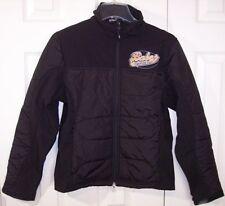 Nwt Port Authority Ladies Black Babes Sports Bar Soft Shell Jacket Coat Small