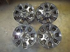 "Ford F250 F350 Truck Alloy Rim Wheel 2017 17 20"" PVD CHROME HC3C-1007-FA SET 4"