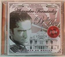 UN CANTO DE MEXICO: EN VIVO by ALEJANDRO FERNANDEZ (2 CDs, 2002-Sony) Very Good!