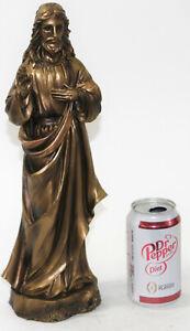 Jesus-Cristo-Bendicion-Estatua-Bronce-Frio-Reparto-Escultura-14-5-034-Figura