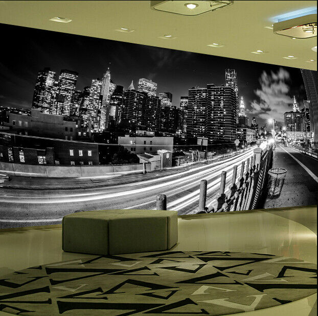 3D Stadtstraße Wolken 78 Tapete Tapeten Mauer Foto Familie Tapete Wandgemälde DE