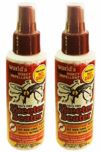 Mo-039-s-OBX-SKEETER-BEATER-Deet-Free-Insect-Repellent-Damaged-Label-TWO-PACK