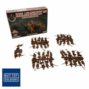 Highland Infantry - Jacobite Rebellions 1745 - Red Box Miniatures - RB72050