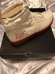outlet store 76b0e c665d Image is loading Nike-SF-Air-Force-1-Mid-Ivory-Mars-