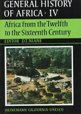 UNESCO General History of Africa, Vol. IV: Africa from the Twelfth to -ExLibrary