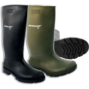 MENS-DUNLOP-WELLINGTONS-BOOTS-WELLIES-RUBBER-SHOES-SIZE-3-12UK-SNOW-LADIES-BOYS