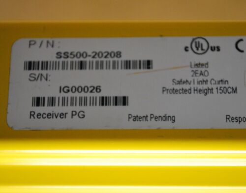 SS500-20108 Transmitter SS500-20208 Receiver NEW Dolan-Jenner SS500-200008R