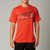 Fox Racing Forecaster S/s Tech Tee Shirt Scarlet