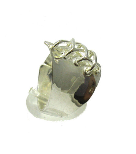 EXTRAVAGANT STERLING SILVER RING SOLID 925 EMPRESS R001319