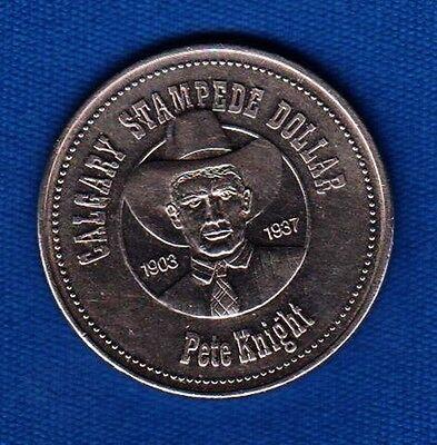 Calgary Stampede 1995 Souvenir Dollar Cowboys