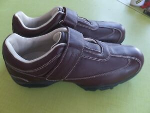 Adidas Golf Z Traxion Womens Soft Cleats Ox Blood Leather Shoes Size ... 5392d1eefc5