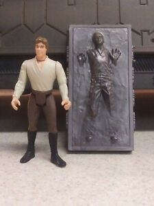 Han Carbonite Display Stand CLEAR Last 17 Star Wars Kenner POTF stand only