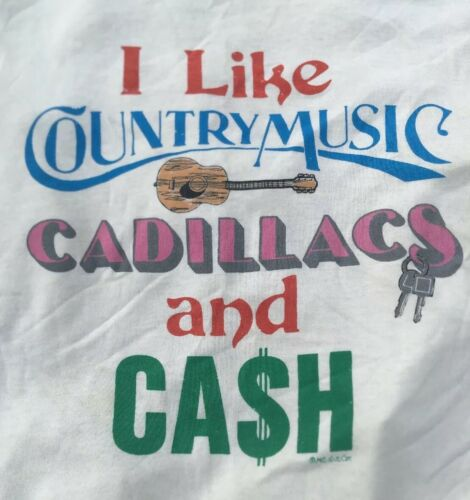 Rare COUNTRY MUSIC CADILLACS & Johnny CASH  M 1970