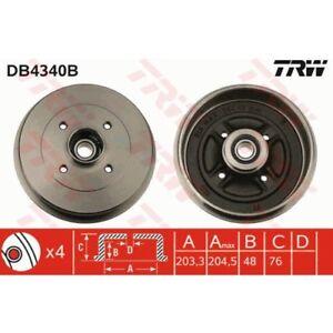 TRW Bremstrommel DB4340B für NISSAN