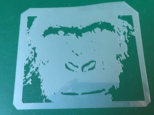 AEROGRAFO Stencil MULTISTRATO FACCIA GORILLA