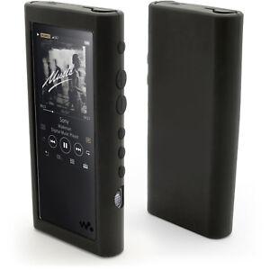 Silicone-Gel-peau-cas-pour-Sony-Walkman-NW-ZX300-caoutchouc-housse-protecteur-d-039-ecran
