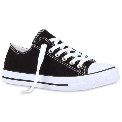894932 Sportliche Damen Sneakers Low Freizeit Turnschuhe Schuhe Trendy