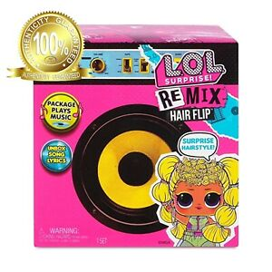 LOL-Surprise-Remix-Hair-Flip-Dolls-Brand-New-and-Sealed-w-15-Surprises-L-O-L