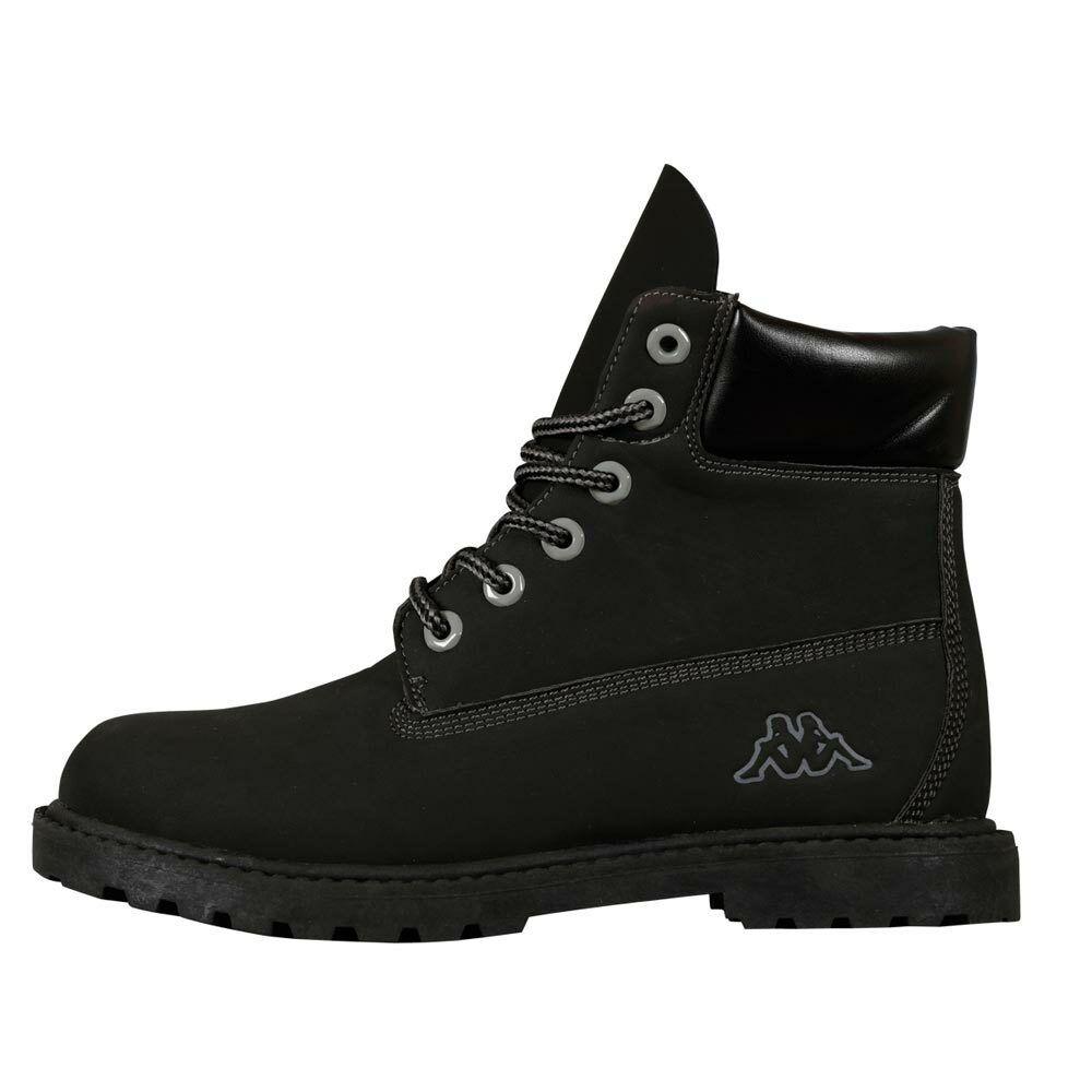 Kappa KOMBO MID Stiefel 241635 Schwarz 1116 Wander Outdoor Schuhe Neu