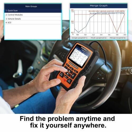 POUR BMW Foxwell NT510E OBDII Voiture Lecteur De Code ABS SRS EPB moteur outil de diagnostic