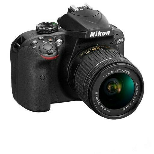Nikon D3400 Camera with AF-P 18-55mm F3.5-5.6 VR Lens - (Trade ins Welcome - 021 945 1606)
