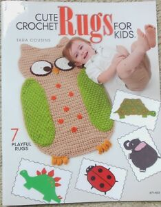 Crocheting Rugs Book : ... about Annies CUTE CROCHET RUGS FOR KIDS crochet rug pattern book