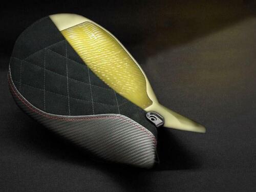 Urban Solo Seat Cover with Gel 2016-2020 Brown Luimoto BMW R nineT Scrambler