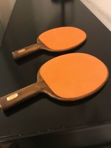 Sensational Rare Vintage Sears Ping Pong Paddles Great Used Condition Home Remodeling Inspirations Propsscottssportslandcom