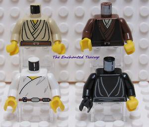 New Reddish Brown Luke Skywalker Obi Wan Lego  Star Wars Jedi Hood