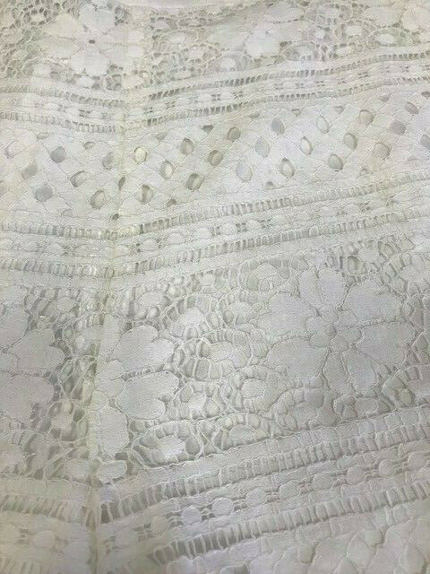 3477b634f08 ... 95 NWT CUPCAKES AND CASHMERE-CG13593-Erin lace shorts in in in White  size ...
