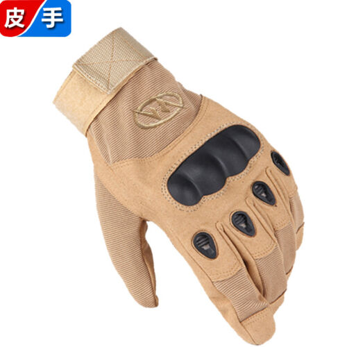 Full Finger Cycling Outdoor Motorcycle Sports Padded Military Tactical Glove