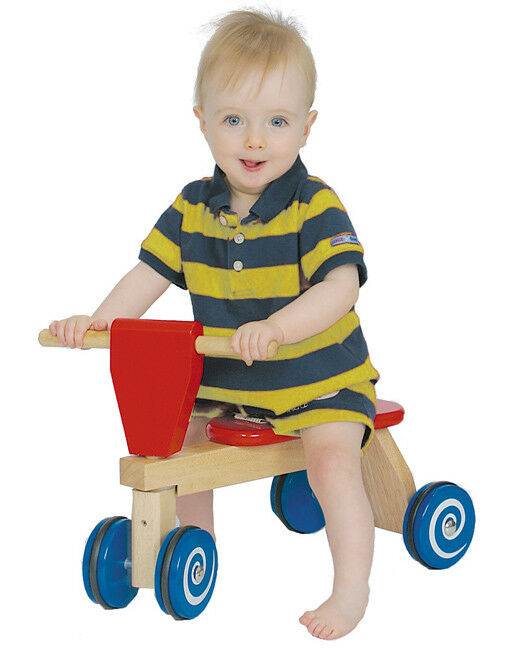 NEW Tiny Trike, Wooden Ride-On Toy, first tricycle for toddlers 12mo+, preschool
